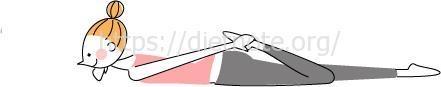 柔軟性チェック5・大腿四頭筋(太もも前側)