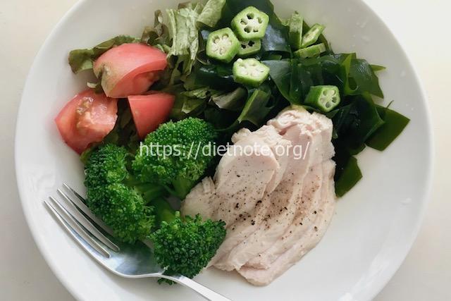 鶏ハムサラダのレシピ