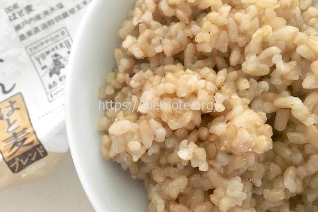 結わえるの寝かせ玄米・はと麦