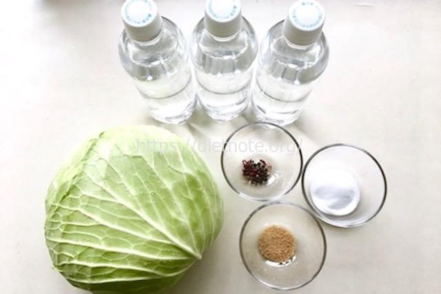 乳酸キャベツの作り方レシピ